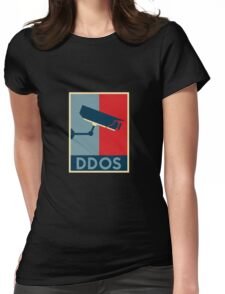 iot DDOS hope Womens Fitted T-Shirt