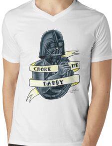 Choke Me Daddy Mens V-Neck T-Shirt
