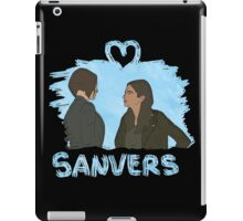 Sanvers - Color Negro iPad Case/Skin