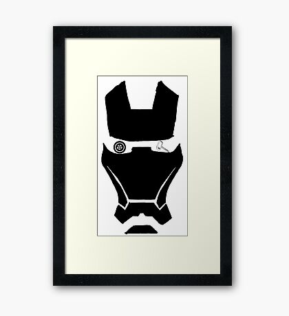 Marvel aspirations  Framed Print