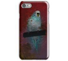 Budgerigar on the rod iPhone Case/Skin