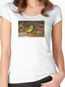 Eastern Yellow Robin Women's Fitted Scoop T-Shirt