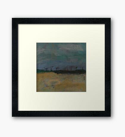 crosby beach  Framed Print