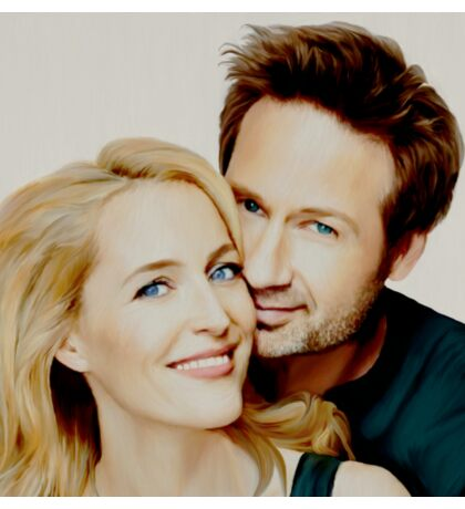 Gillian and David painting Sticker