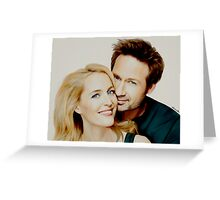Gillian and David painting Greeting Card