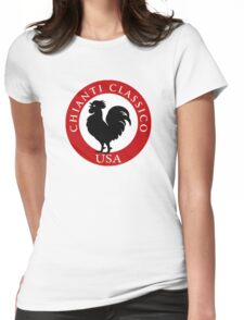 Black Rooster USA Chianti Classico  Womens Fitted T-Shirt