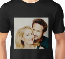 Gillian and David painting Unisex T-Shirt