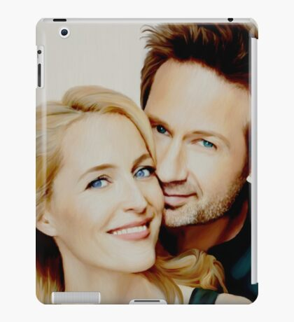 Gillian and David painting iPad Case/Skin