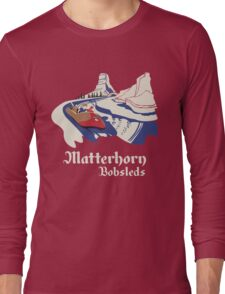 Matterhorn Bobsleds Long Sleeve T-Shirt