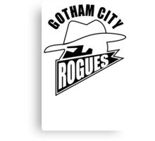 Gotham City Rogues Canvas Print
