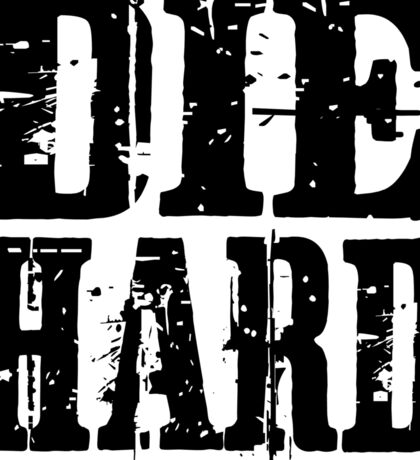die hard classic hollywood movies movie film acton t shirts Sticker