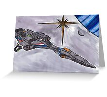 Exploration Cruiser Endeavour Greeting Card