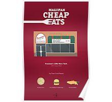 Halifax Cheap Eats - Freeman's Poster Poster