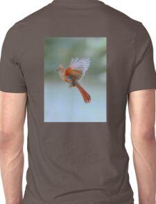 Cardinal in flight Unisex T-Shirt