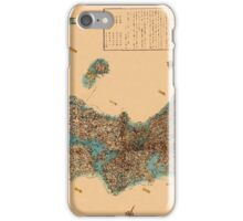 Map Of Japan 1850 iPhone Case/Skin