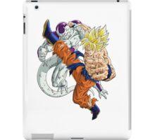 Goku Kicks Frieza  iPad Case/Skin