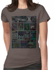 NEON PUNK TAPES Womens Fitted T-Shirt