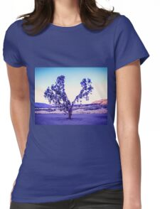 Rubber Tree Plant Womens Fitted T-Shirt