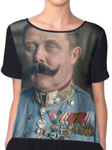 Archduke Franz Ferdinand of Austria Chiffon Top