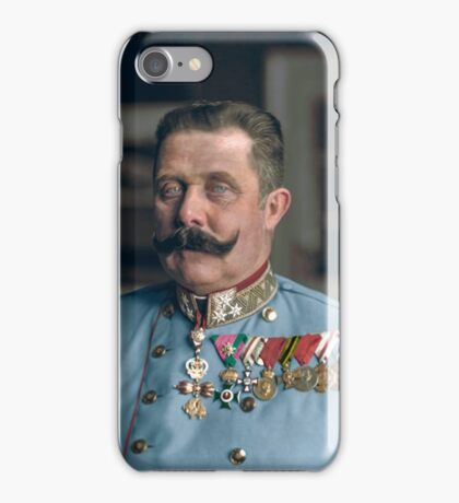 Archduke Franz Ferdinand of Austria iPhone Case/Skin