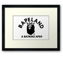 BAPE/BAPELAND Framed Print
