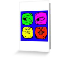 ugly Greeting Card
