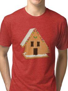 109 Gingerbread Lane Tri-blend T-Shirt