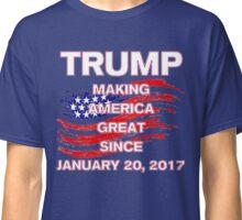 President Donald Trump inauguration Shirt 45th 45th US America Making America Great Since 2017 Classic T-Shirt