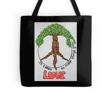 It Takes Love Tote Bag