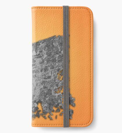 Garita Orange-background iPhone Wallet/Case/Skin
