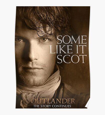Jamie Fraser Outlander Cover Poster