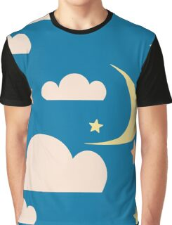clouds blue Graphic T-Shirt
