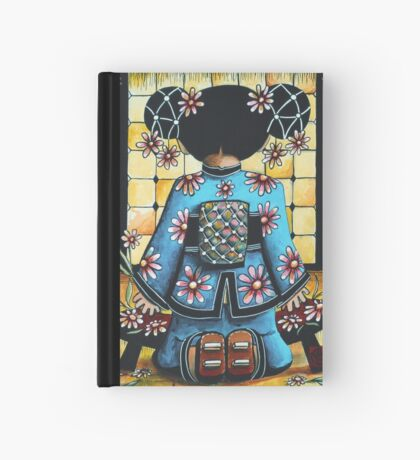 Asia Blue Hardcover Journal