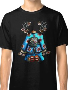 Asia Blue on Black TShirt by Karin Taylor Classic T-Shirt