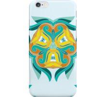 Psychedelic jungle kaleidoscope ornament 1 iPhone Case/Skin