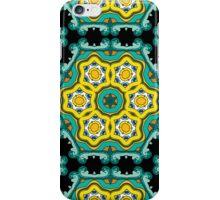 Psychedelic jungle kaleidoscope ornament 2 iPhone Case/Skin