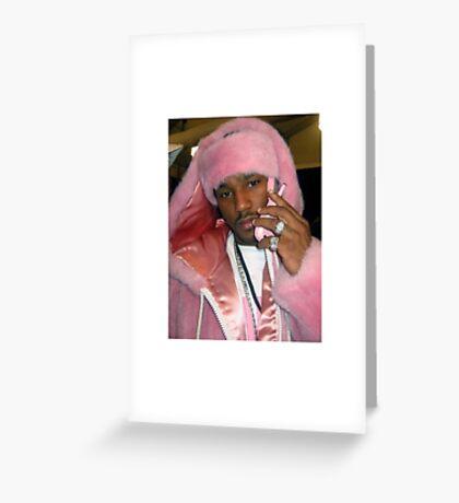 Cam'ron Pink Greeting Card