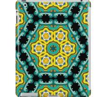 Psychedelic jungle kaleidoscope ornament 2 iPad Case/Skin