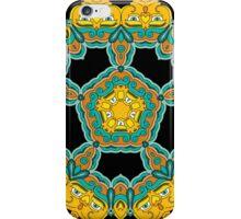 Psychedelic jungle kaleidoscope ornament 3 iPhone Case/Skin