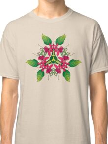Psychedelic jungle kaleidoscope ornament 5 Classic T-Shirt