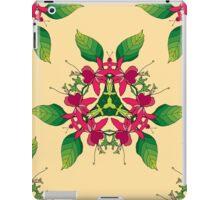 Psychedelic jungle kaleidoscope ornament 5 iPad Case/Skin