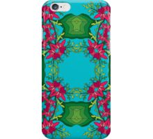 Psychedelic jungle kaleidoscope ornament 6 iPhone Case/Skin