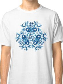 Psychedelic jungle kaleidoscope ornament 7 Classic T-Shirt