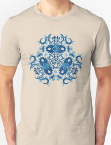 Psychedelic jungle kaleidoscope ornament 7 T-Shirt