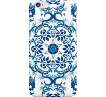 Psychedelic jungle kaleidoscope ornament 8 iPhone Case/Skin