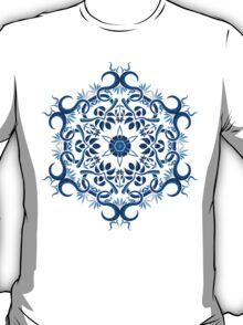 Psychedelic jungle kaleidoscope ornament 8 T-Shirt