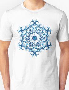 Psychedelic jungle kaleidoscope ornament 8 T-Shirt