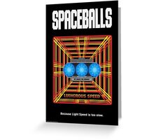 Spaceballs: Ludicrous Speed Greeting Card