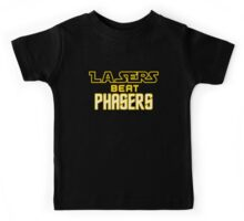 Lasers Beat Phasers Kids Tee