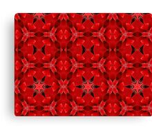 Kaleidoscope Geometry Patterns From Nature 6 Canvas Print